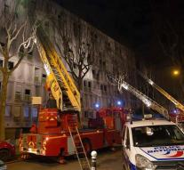 Fatal fire in migrant center Paris