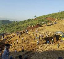 Fear of deaths in landslide Myanmar