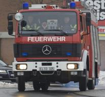 Fire in German refugee reception center