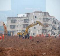 First body found after disaster southern China