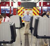 First polling stations closed in US