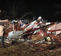 Five killed by tornadoes in the southern US
