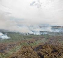Forest fire Germany not yet under control