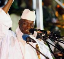 Former president Gambia announces departure