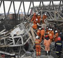 Forty deaths scaffolding collapse in China