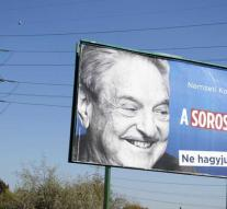 'Foundation billionaire Soros away from Budapest'