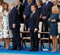 France celebrates 14th of July with Trump as a guest
