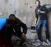 France protects Banksy graffiti in Calais
