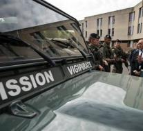 French army worried about theft truck