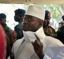 Gambia president rejects election results
