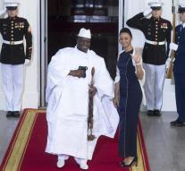 Gambia president should stay on for three months