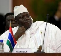 Gambia vice president resigned