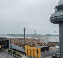 German airport closed due to heat damage