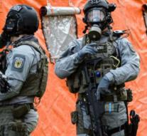 German exercise biological terrorist attack