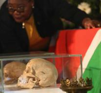 Germany returns Namibia skulls