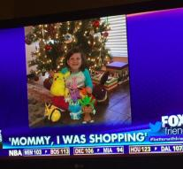Girl (6) make purchases with fingerprint sleeping mother