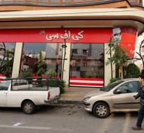 Hassle in Iran about Kentucky Fried Chicken