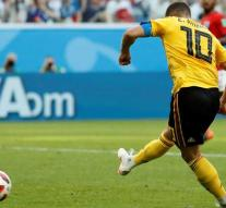Hazard scores and treats Belgian electronics business with a daring World Cup action