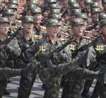 Higher military activity around North Korea