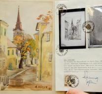 Hitler paintings deliver 40,000 euros