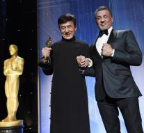 Honorary Oscar for Jackie Chan