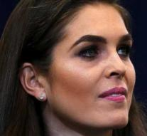 Hope Hicks leaves White House