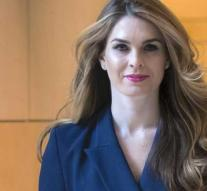 'Hope Hicks welcome in Hollywood'