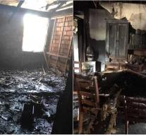 House fires twice in 24 hours
