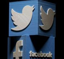Hundreds of Facebook and Twitter accounts have been lifted for propaganda