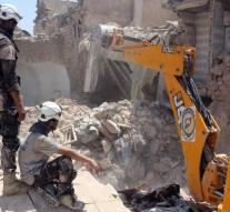 Hundreds of 'white helmets' were taken from Syria