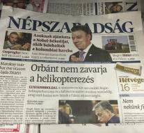 Hungarian opposition newspaper no longer published