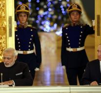 Indian Prime Minister is doing 'Christmas shopping' in Moscow