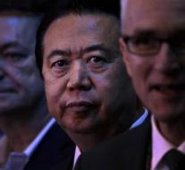 Interpol wants China to be decisive about boss