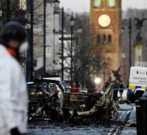 'IRA' demands explosion car bomb Derry