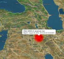 Iran earthquake: two deaths and hundreds of wounded