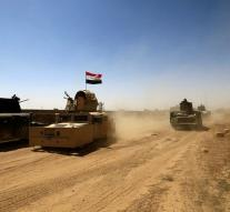 Iraqi army breaks through line IS in Tal Afar