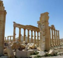 IS back oasis city of Palmyra
