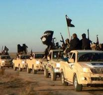 ' Islamic State Warriors away from Raqqa '