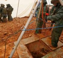 Israel: last Hezbollah smuggling tunnel 55 meters underground