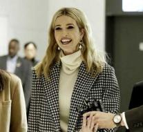 Ivanka Trump arrives in South Korea