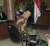 Jakarta Governor crying on first day process