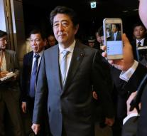 Japanese Prime Minister goes fast along with Trump