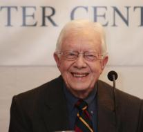 Jimmy Carter 's ' cancer free '