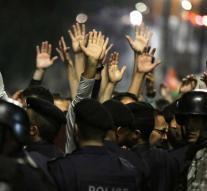 Jordan's protests to tax measures