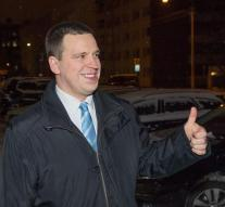 Jüri Ratas new prime minister of Estonia