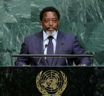 Kabila does not participate in the election of Congo