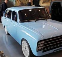 Kalashnikov builds electric car