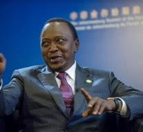 Kenya president does occasionally own country