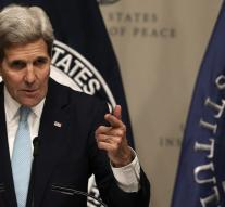 Kerry hopes consultation without self-interest