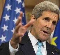 Kerry talks about Middle East unrest